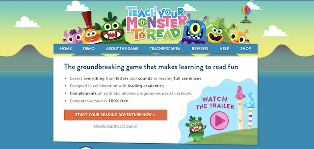 Teach Your Monster How to Read