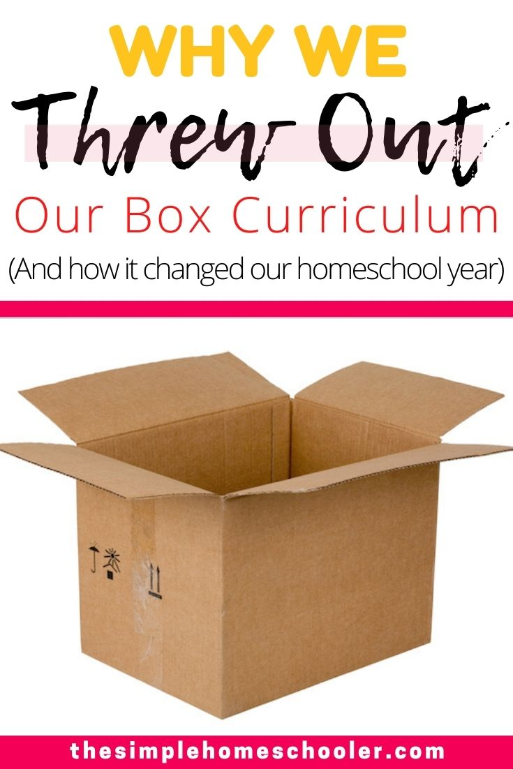 Box Curriculum: Why We Ditched It and What Happened