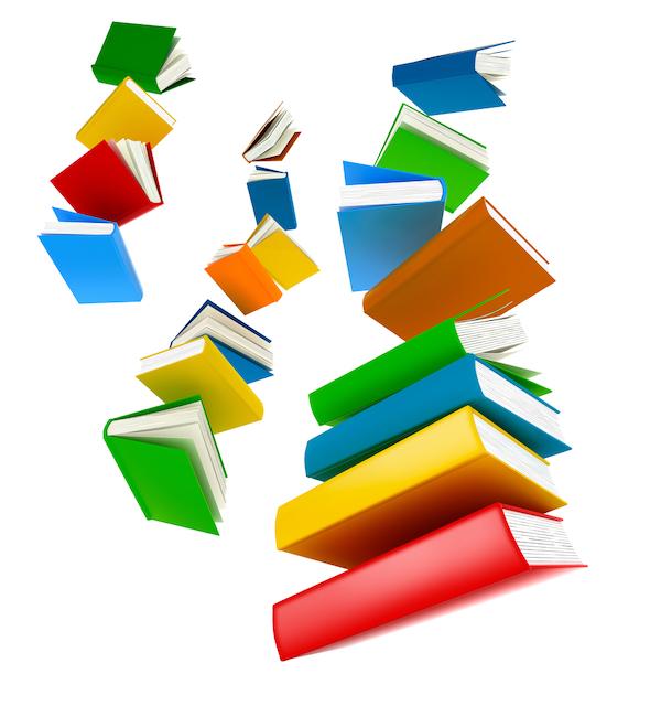 Homeschool books falling