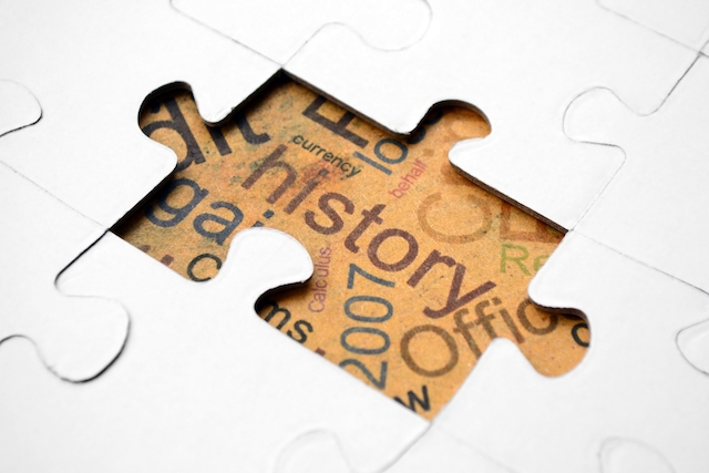 history puzzle piece